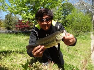 May 5th, 2013 - Largemouth Bass - Tookany Creek