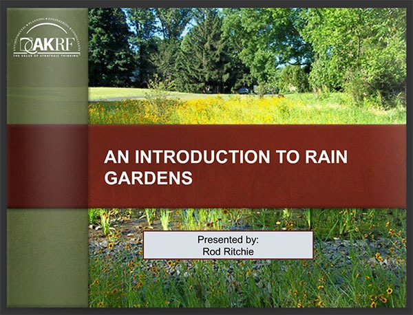 Rod Ritchie's Rain Garden Presentation Cover