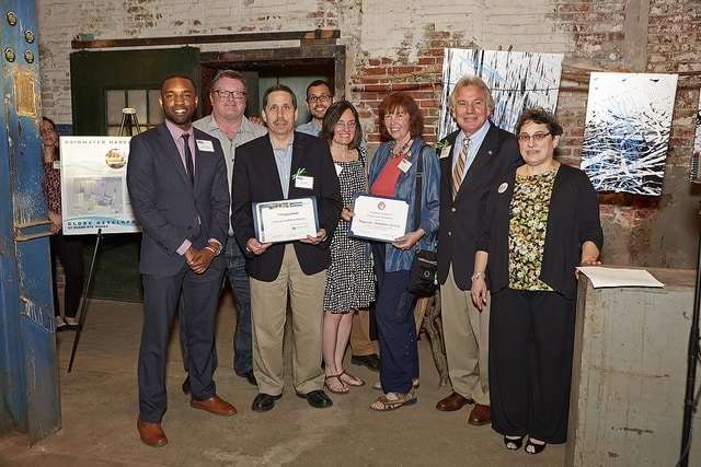 Wyncote Audubon Society receives the TTF Legacy Award.