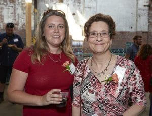 Left to right: Susan Harris of Cerulean, LLC and TTF Board of Advisors, and Sue Myerov of Pennsylvania Environmental Council and TTF Board of Directors.