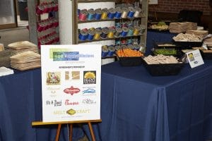 Thank you to all the businesses that donated food for our event - it was delicious!