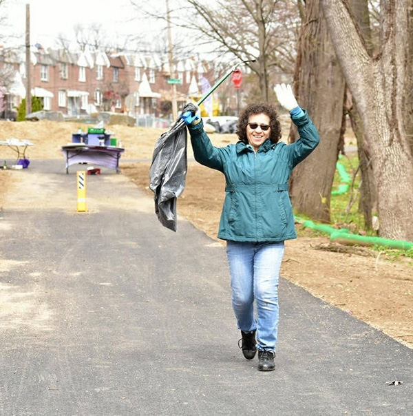 Volunteer Care-Day along Tacony Creek – TTF Watershed